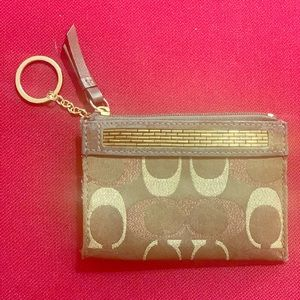 Coach wallet/card holder NWOT